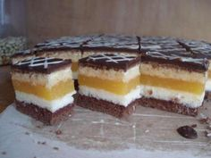 High Sugar, Cake Bars, Tiramisu, Cheesecake, Food And Drink, Pudding, Favorite Recipes, Treats, Cookies