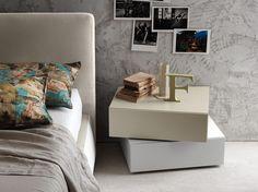 I-NIGHT SYSTEM INCLINART Bedside table by Presotto Industrie Mobili design Pierangelo Sciuto