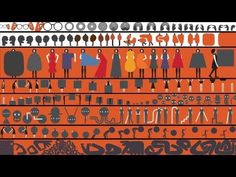 Geoff McFetridge ~ Walker Art Center Fence Design Filmstrip-inspired mural commissioned for the construction fence encircling the Walker Art Center in Minneapolis. (1:27)