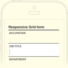 Grid Forms · Data entry made beautiful #forms #uiux