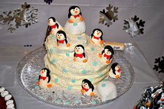 Penguin Party, Winter Party, Second birthday party
