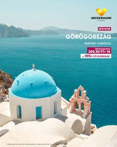 🇬🇷 NYARALJ GÖRÖGORSZÁGBAN! www.neckermann.hu/gorogorszag Gyerekek akár 199€/fő áron utazhatnak Görögországba!  Égei-tenger Téged vár, foglald le most a nyaralást, hogy biztos legyen helyed! Taj Mahal, Building, Travel, Viajes, Buildings, Destinations, Traveling, Trips, Construction