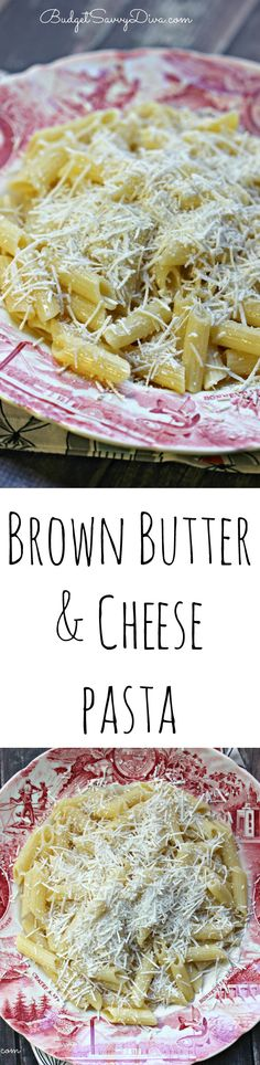 BEST PASTA EVER! Brown Butter and Cheese Pasta Recipe. Perfect for picky eaters. Copy Cat Recipe For Old Spaghetti Factory Brown Butter Pasta.