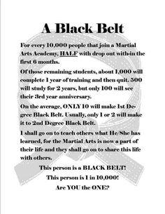 one in black belt - Google zoeken