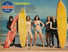 California's BAD GIRL Punk Band – The RUNAWAYS ! | Federico de ...