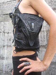 Predator prey blasting bag (tempest couture)