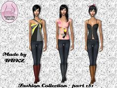Free Mesh BBKZ 061208 needed. :-) Found in TSR Category 'Sims 2 Clothing Sets' Sims 2, Clothing Themes, Clothing Sets, Sims Community, Sims Resource, Art Poses, Outfit Sets, Maternity, Wonder Woman