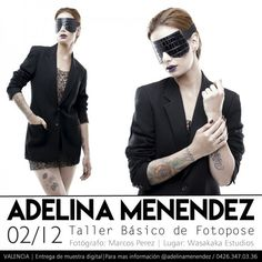 Taller Básico de Fotopose por Adelina Menéndez http://crestametalica.com/taller-basico-de-fotopose-por-adelina-menendez/ vía @crestametalica