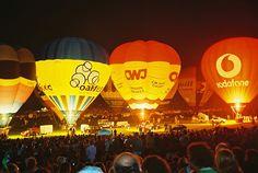 Experience the Bristol Balloon Fiesta - Europe's largest hot air balloon event.