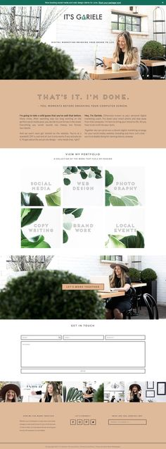 It's Gariele is running on Station Seven's Coastal theme for WordPress. Get this minimal and modern theme for your website or blog by clicking through this pin!
