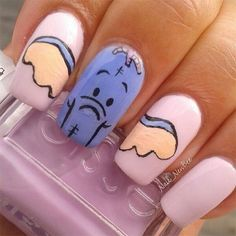 Elephant Nails Panoramic - Amazing Nail Art Designs Ideas For Beginners Learners