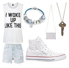 Untitled #11 by dreamlooks on Polyvore featuring polyvore, fashion, style, Private Party, Ksubi, Converse, The Giving Keys, Bling Jewelry and clothing