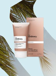 Skincare brand The Ordinary has unveiled two products in their suncare range – A Mineral UV SPF 15 and SPF 30 Mac Matte Lipstick, Mac Lipsticks, Eyeshadow Palette, Lip Gloss, The Ordinary Spf, The Ordinary Skincare, Beauty Makeup, Diy Makeup, Products
