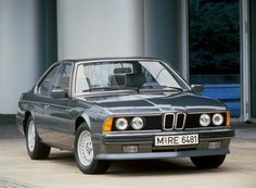 1984 BMW 633CSi.  We have one of these, I can't wait to drive it... Hehe