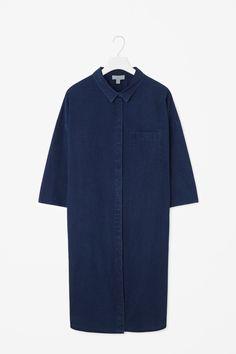 COS   Denim look shirt dress