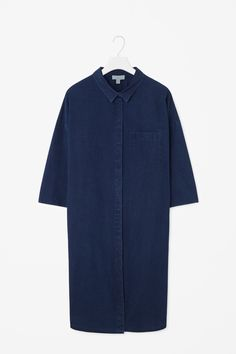 COS | Denim look shirt dress