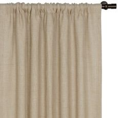 RUSTIQUE MOSS CURTAIN PANEL