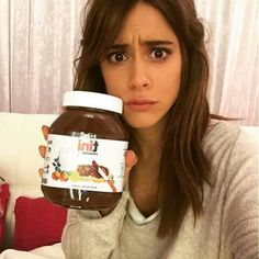 Nutella and Tini! Disney Channel, Martini, Violetta Disney, Nutella Spread, Celebrity Singers, Cute Eyes, Makeup Forever, Ombre Hair, Beauty And The Beast