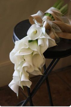 -calla lily bouquet.