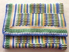 Posts & Stripes Blanket