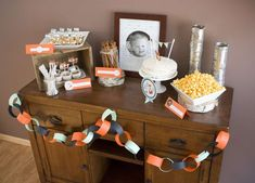 Owen's Fox First Birthday Party | CatchMyParty.com