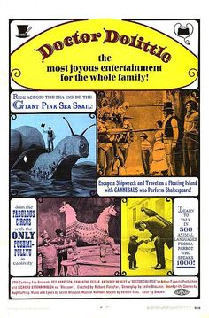 Doctor Dolittle (1967) a favorite from childhood.