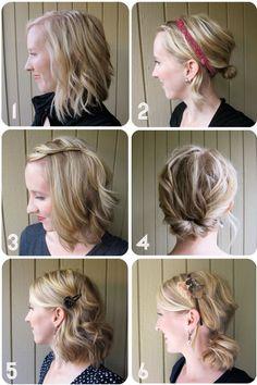 Hair styles for medium length hair. Love how the texture makes her fine hair appear fuller!