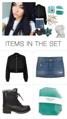 """""""OOTD"""" by sapphire-anons ❤ liked on Polyvore featuring art"""