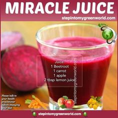 ☛ Have YOU heard of this potent cancer-preventing miracle juice? We have the recipe for YOU.