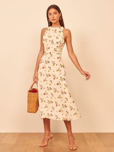 REFORMATION Harleen Dress - We Select Dresses Day Dresses, Dress Outfits, Casual Dresses, Short Dresses, Summer Dresses, Girls Fashion Clothes, Fashion Dresses, Beautiful Evening Gowns, Picture Outfits