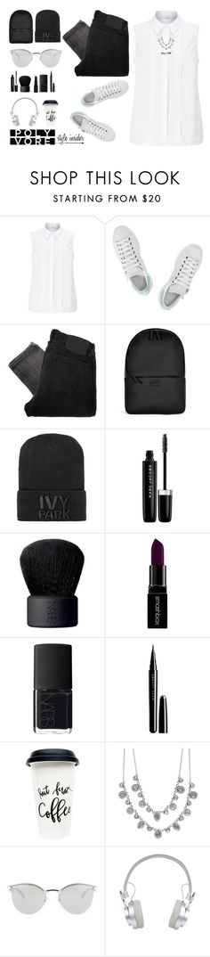 """{{ P }} .style insider."" by isaardavin ❤ liked on Polyvore featuring John Lewis, adidas, Religion Clothing, Rains, Ivy Park, Marc Jacobs, NARS Cosmetics, Smashbox, Givenchy and Fendi"