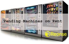 Reonse offers vending and snack and drink machines for short term and long term rental use. - reonse.com