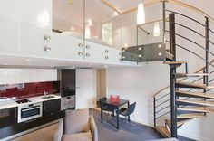 Go Native — Hyde Park, London.  Is this the perfect city apartment?!