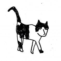 Elba : Magali Brueder Elba, Moose Art, Doodles, Cats, Illustration, Animals, Design, Gatos, Animales