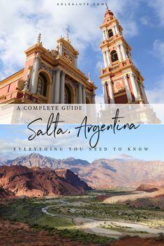 complete guide to Salta Argentina including where to stay in Salta what to do what you have to see the best nightlife to see folkloric music and the best hotels and where to stay. South America Destinations, South America Travel, Travel Destinations, Holiday Destinations, North America, Ushuaia, One Day Trip, Day Trips, Machu Picchu