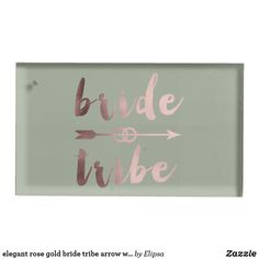 Shop elegant rose gold bride tribe arrow wedding rings table card holder created by Elipsa. Rose Gold Bridesmaid, Wedding Rings Rose Gold, Rose Wedding, Wedding Supplies, Wedding Favors, Metal Card Holder, Bachelorette Party Decorations, Table Cards, Wedding Accessories
