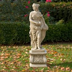 Four Seasons - Fall | Cast | Stone | Garden | Statue