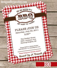 Cute invite....but not at adorable as Nicole Lee's for our BBQ Cheer Banquet