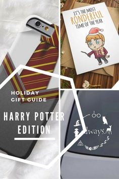 Holiday Gift Guide 2016 | Harry Potter Edition