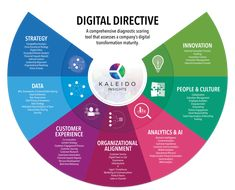 The Seven Modules of Digital Transformation - Kaleido Insights Infographic Powerpoint, Infographics, Process Map, Business Model, Project Management Templates, Change Management, Digital Strategy, Business Planning, Leadership