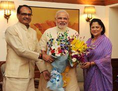 MP CM calls on PM