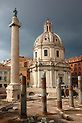 Columns of Emperors Trajan's Forum and Trajans Column . Rome Pictures, Pictures Images, Trajan's Column, Classical Antiquity, Templer, Trevi Fountain, Great Western, Cities In Europe, European History