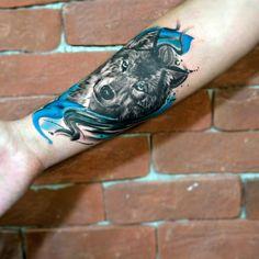 Kurt Desenli Dövme - Tattoo Artist: Tahir Yıldırım