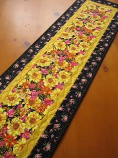 #Quilted #Table #Runner #Floral #handmade $34.00