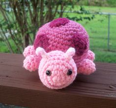 Think Pink Ladybug @ BeyondCrochet.etsy.com