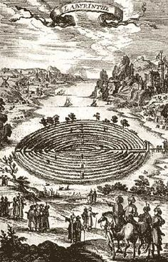 A labyrinth is an ancient symbol of wholeness that combines the imagery of the circle and the spiral into a meandering but purposeful path.