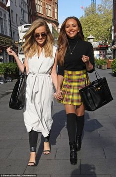 little mix, perrie edwards, and jade thirlwall image Little Mix Outfits, Little Mix Style, Little Mix Girls, Celebrity Outfits, Celebrity Style, Celebrity Women, Celebrity News, Perrie Edwards Style, Whatever Forever