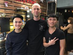 Hanging with the barber shop boys in Hanoi getting my boi all fresh  @yaku_  #vietnam #travel #wanderlust #instatravel #travelgram #tourist #tourism #vacation #holiday #traveling #trip #love #couple #backpackingdream #backpacking #veitnamtrip #travelpic #travelbug #barber #barbershop #hanoi #boi #boy #husband
