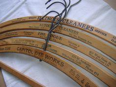 Antique hangers
