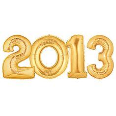 2013 Gold Megaloons Balloon Set
